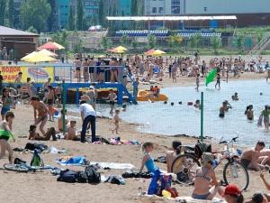 Уфа пляж